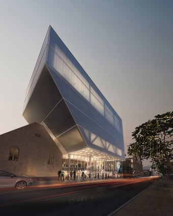 Geelong Performing Arts Centre by Hassell.