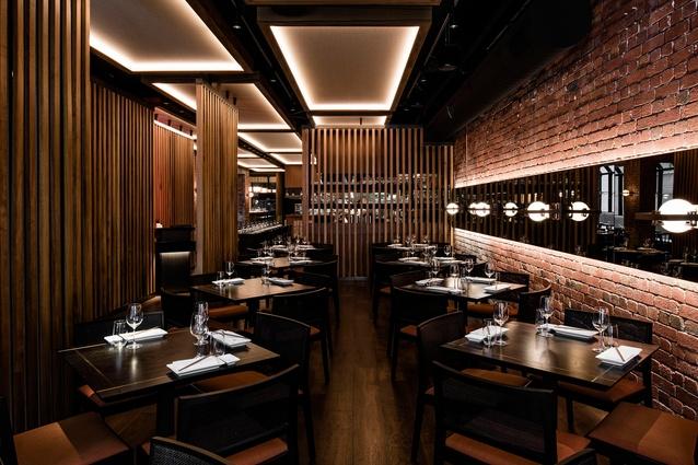 Sake Japanese Flinders Lane Melbourne by Melissa Collison Design.
