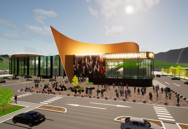 Artas建筑事务所设计的kanamaluka文化中心。