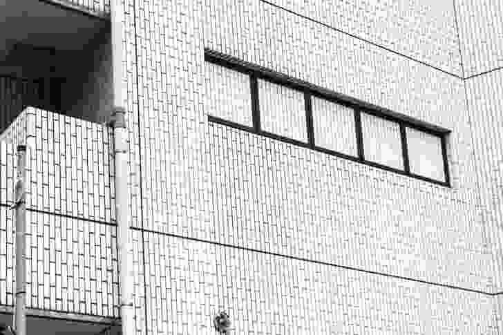 "A ""blind"" building in Shimokitazawa."
