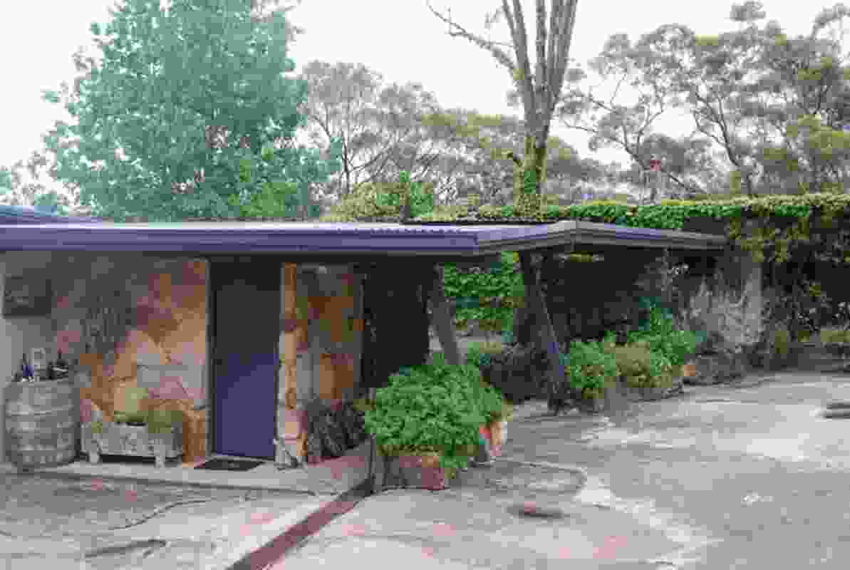 Kia Sulc House c.1960 Faulconbridge Blue Mountains NSW.