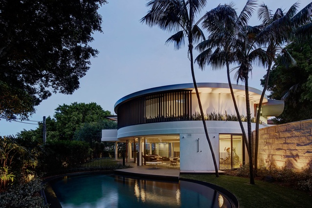 Bellevue Hill Residence by Tzannes Associates.