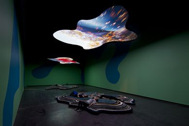I Packed the Postcard in My Suitcase by Pipilotti Rist.