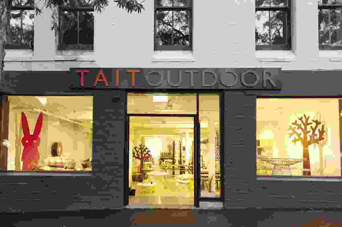 Tait Outdoor's new showroom in Sydney.