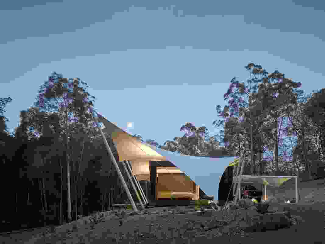 Tent House (Qld) by Sparks Architects.