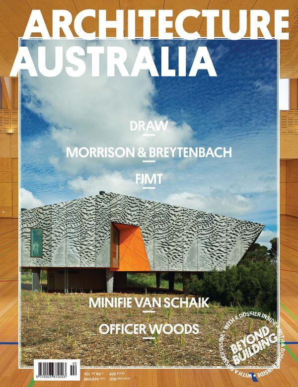 Architecture Australia, March 2012