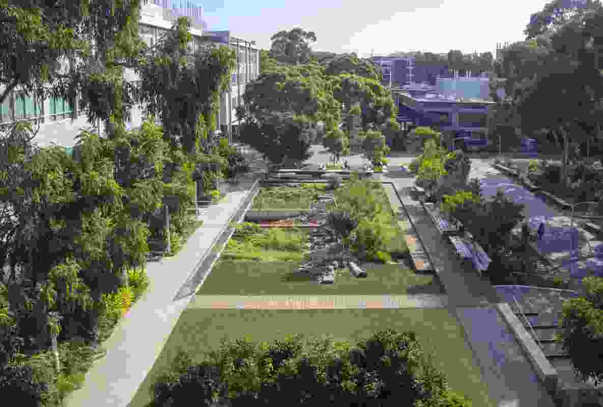 Monash University Western Precinct Landscape by Rush Wright Associates won a Landscape Architecture Award in the Urban Design category.