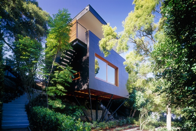 First House: Carport Treehouse