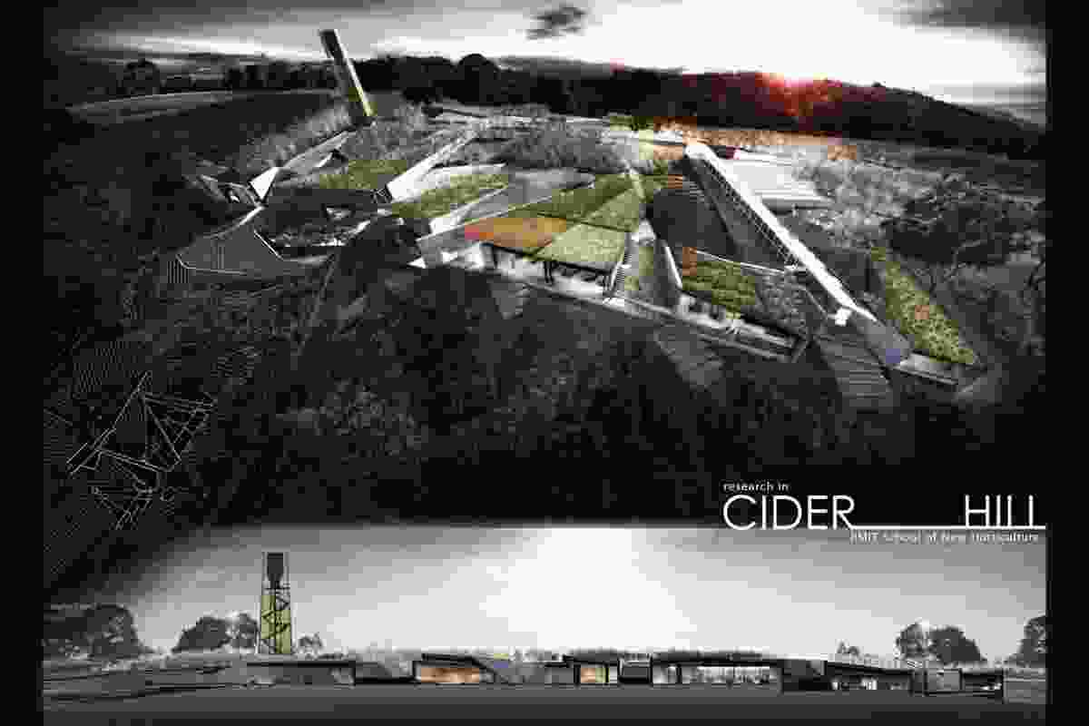 Winner: Cider Hill horticulture research centre by James Loder.