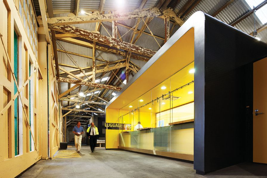 Public Design – B-Shed Ferry Port Terminal by Brooking Design Practice.