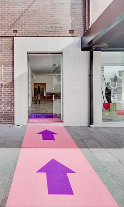 Entrance to the new Object gallery William Street in Darlinghurst, Sydney.