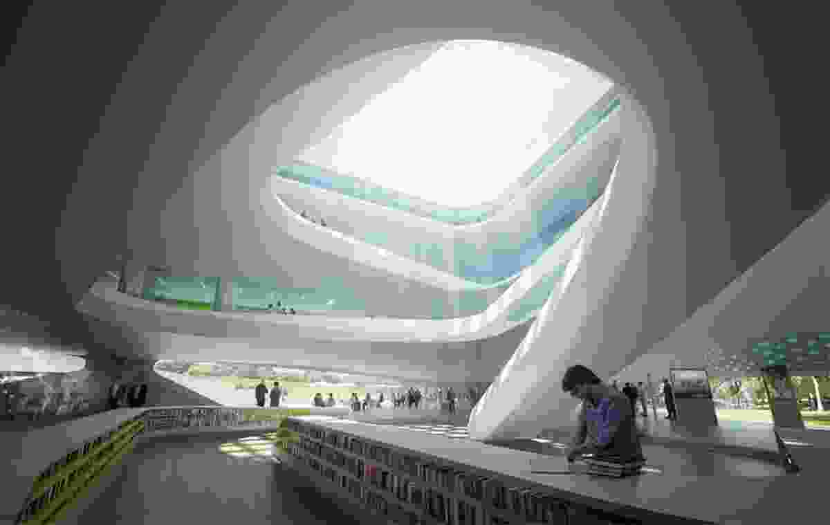 LAVA's proposal for the headquarters of the Green Climate Fund in Bonn.