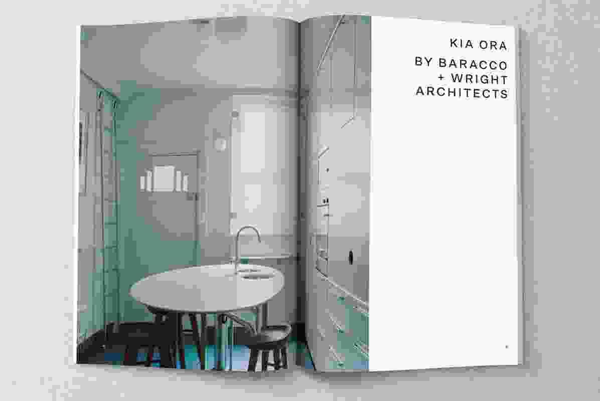 Kia Ora by Baracco and Wright Architects.