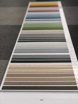Polyflor launches Palettone flooring range in a dizzying 50 colours
