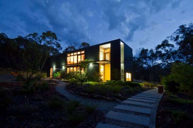 Box House by Rob Henry Architects.
