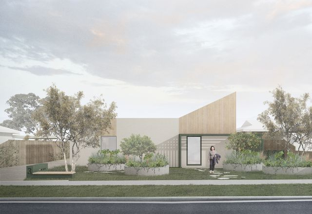 Beaconsfield housing for WPI by Studio Bright.