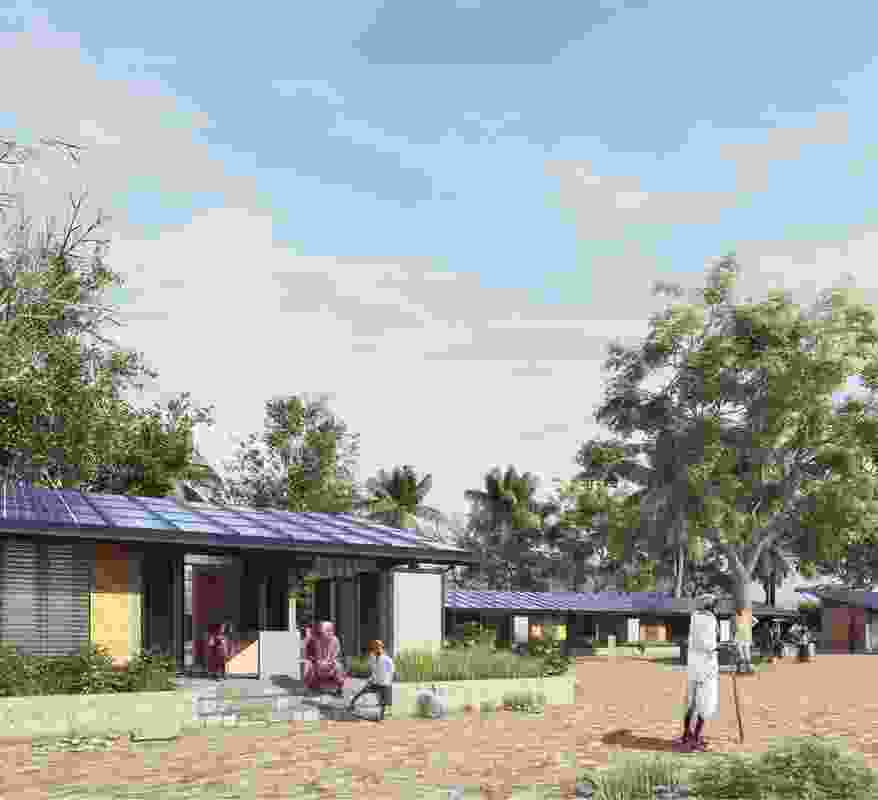 PowerHYDE is the world's first carbon positive home for the homeless – designed to address rural homelessness in India.