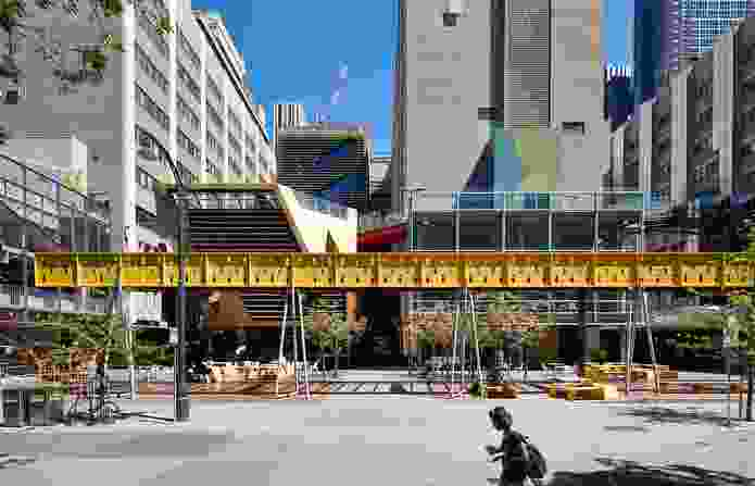 New Academic Street, RMIT University by Lyons with NMBW Architecture.