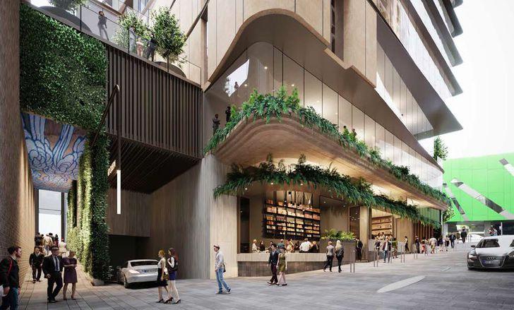 60 Queen Street Brisbane by Blight Rayner.