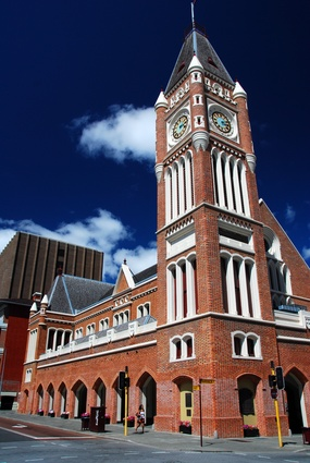 The only town hall to be built by convicts in Australia, Perth Town Hall was designed by  Richard Roach Jewell and James Manning in the Victorian Free Gothic style.