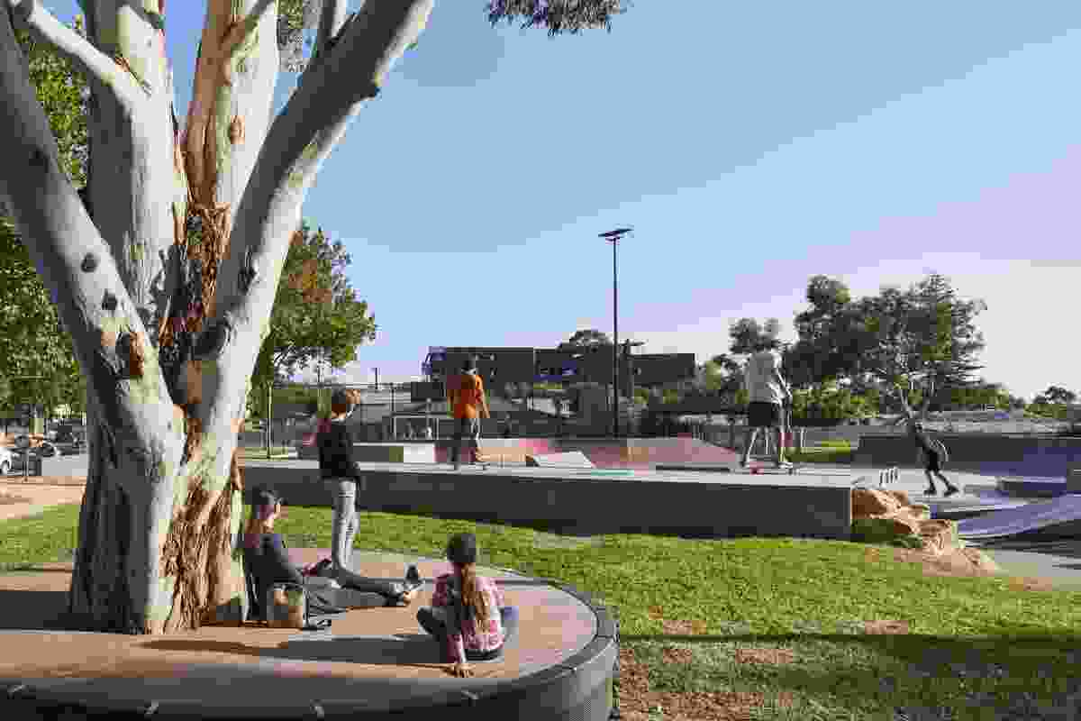 George Whittle Reserve by JPE Design Studio won a Landscape Architecture Award in the Play Spaces category.
