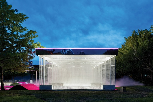 The typology of the suburban carwash has been adopted and transformed.