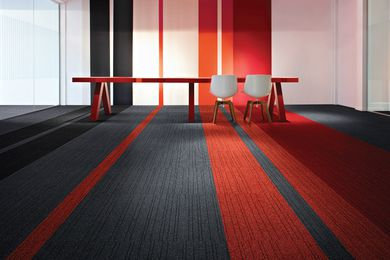 Desso carpet.