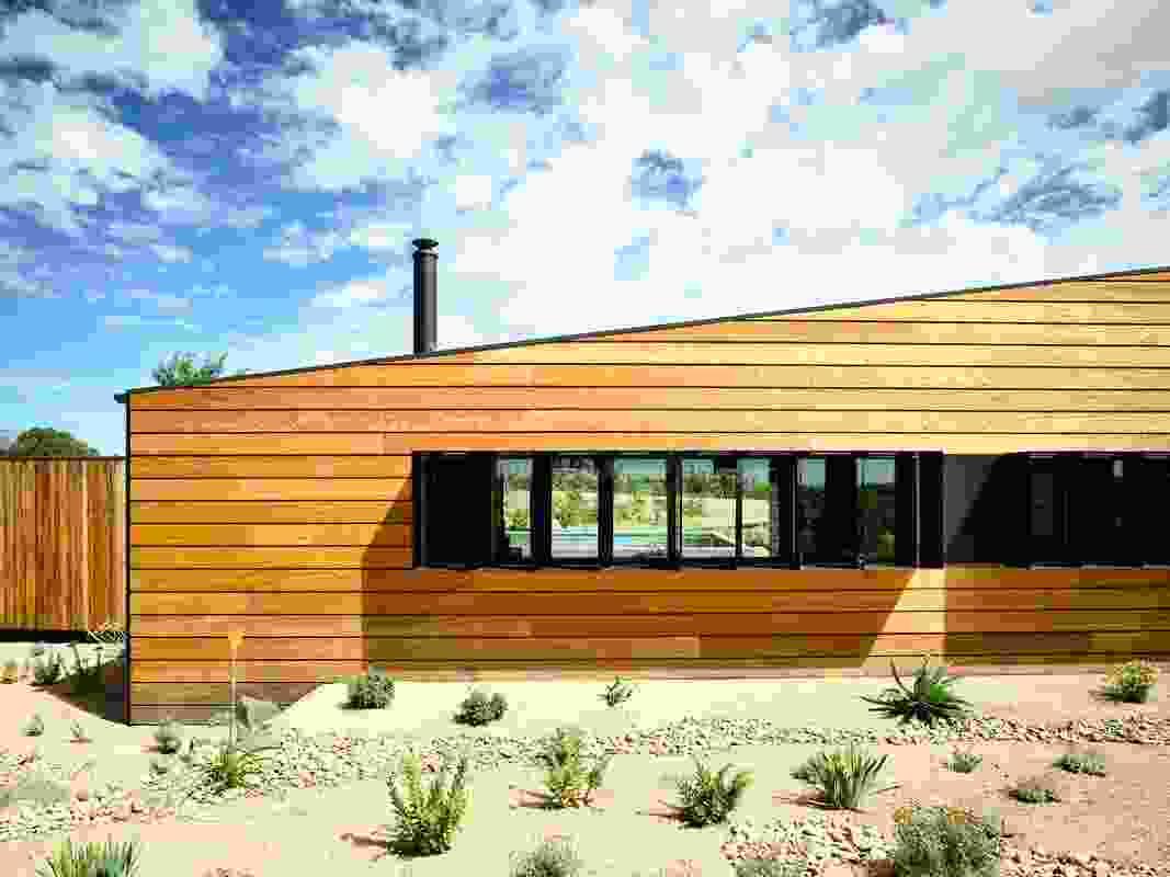 Hill Plains Cottage by Wolveridge Architects.