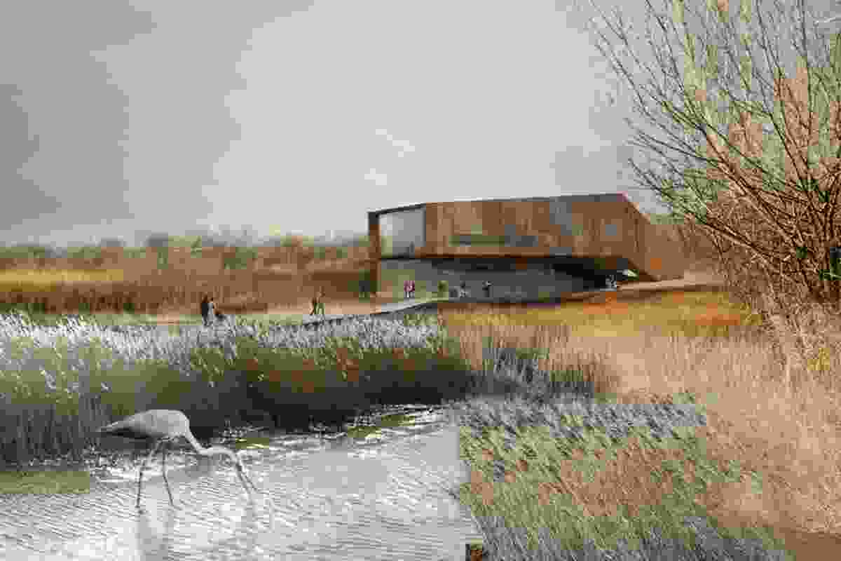 Cronton Colliery Design Competition, Great Britain, Hassell.