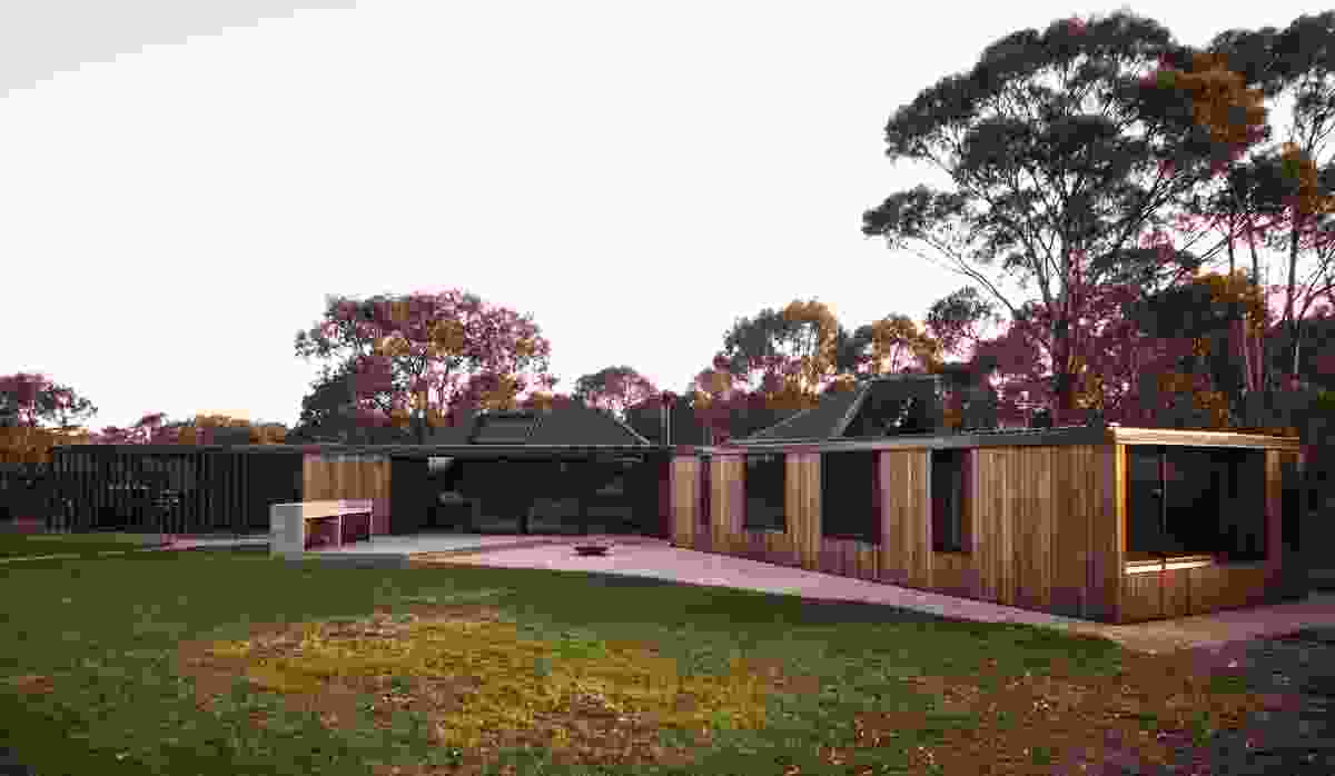 Taylor and Hinds Architects. Pictured is Lagoon House (Tas).