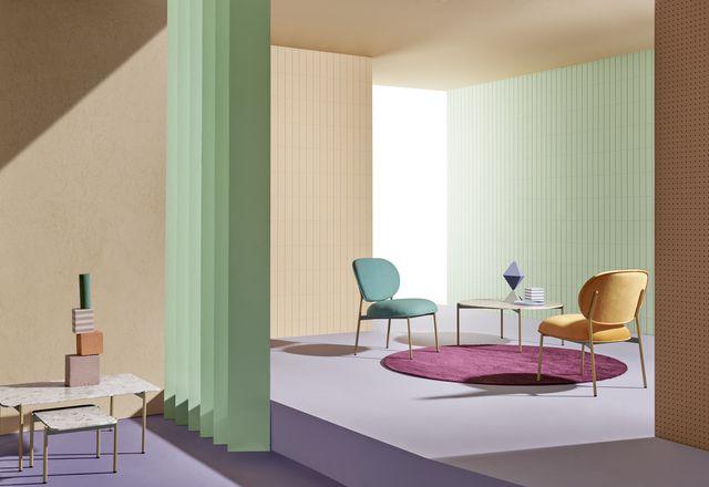 Blume Collection by Sebastian Herkner为Pedrali。