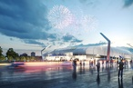 Cox designs concept for 15,000-seat stadium for Melbourne's Dandenong