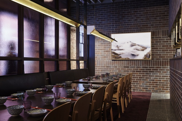 Lee Ho Fook by Techne Architecture + Interior Design.