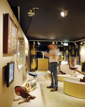 Encouraging visitors to explore the display was vital to the design.