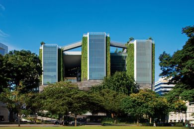 School of the Arts, Singapore, by WOHA.