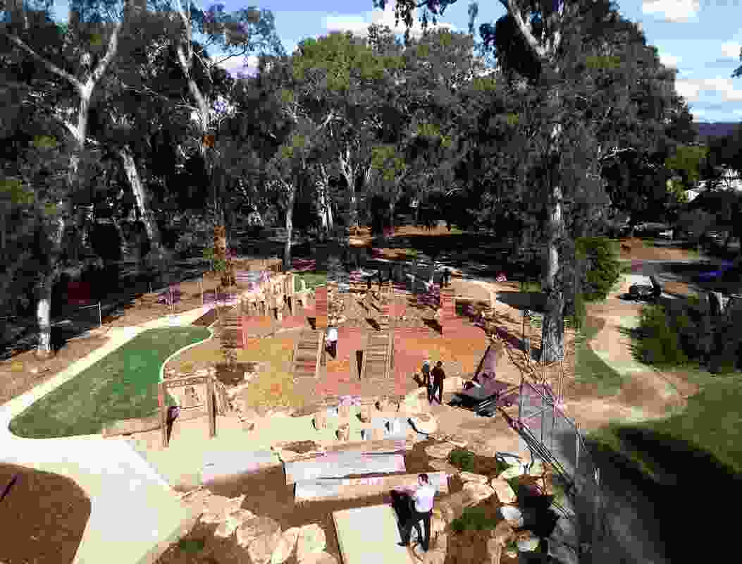 Activating Heywood Park by City of Unley and Clover Green Space won a Landscape Architecture Award in the Parks and Open Space category.