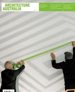 Architecture Australia, January 2010