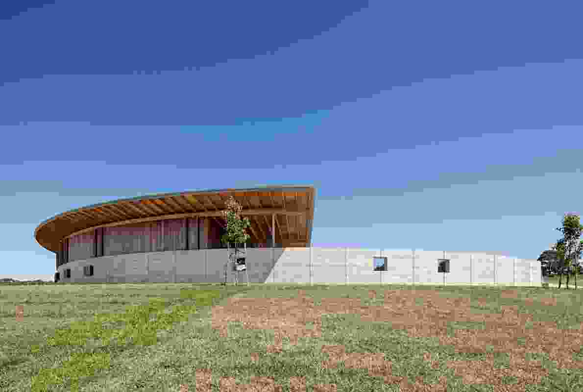 Merricks Equestrian Centre by Watson Architecture and Design (Melbourne) in collaboration with Seth Stein Architects (London).