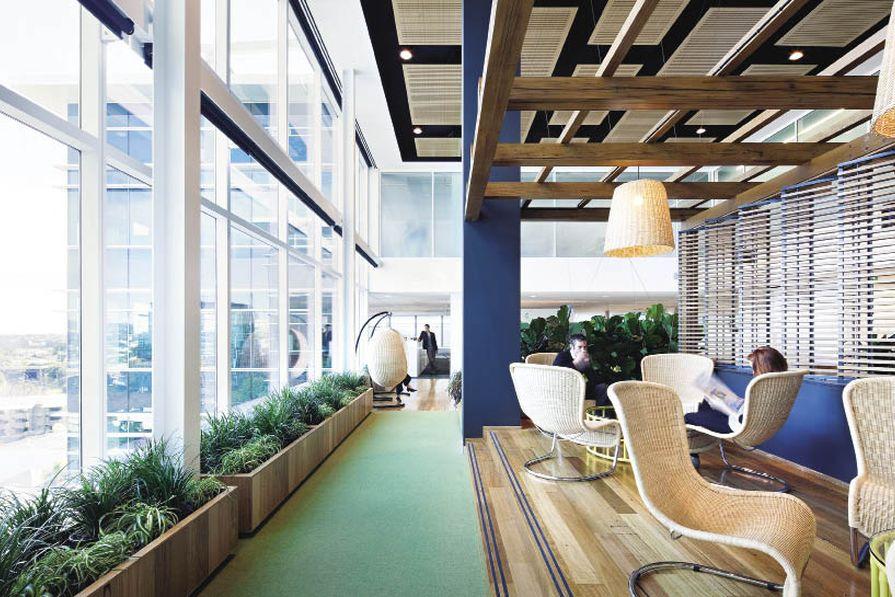 Plantlife and natural light capture Queensland's indoor-outdoor lifestyle.