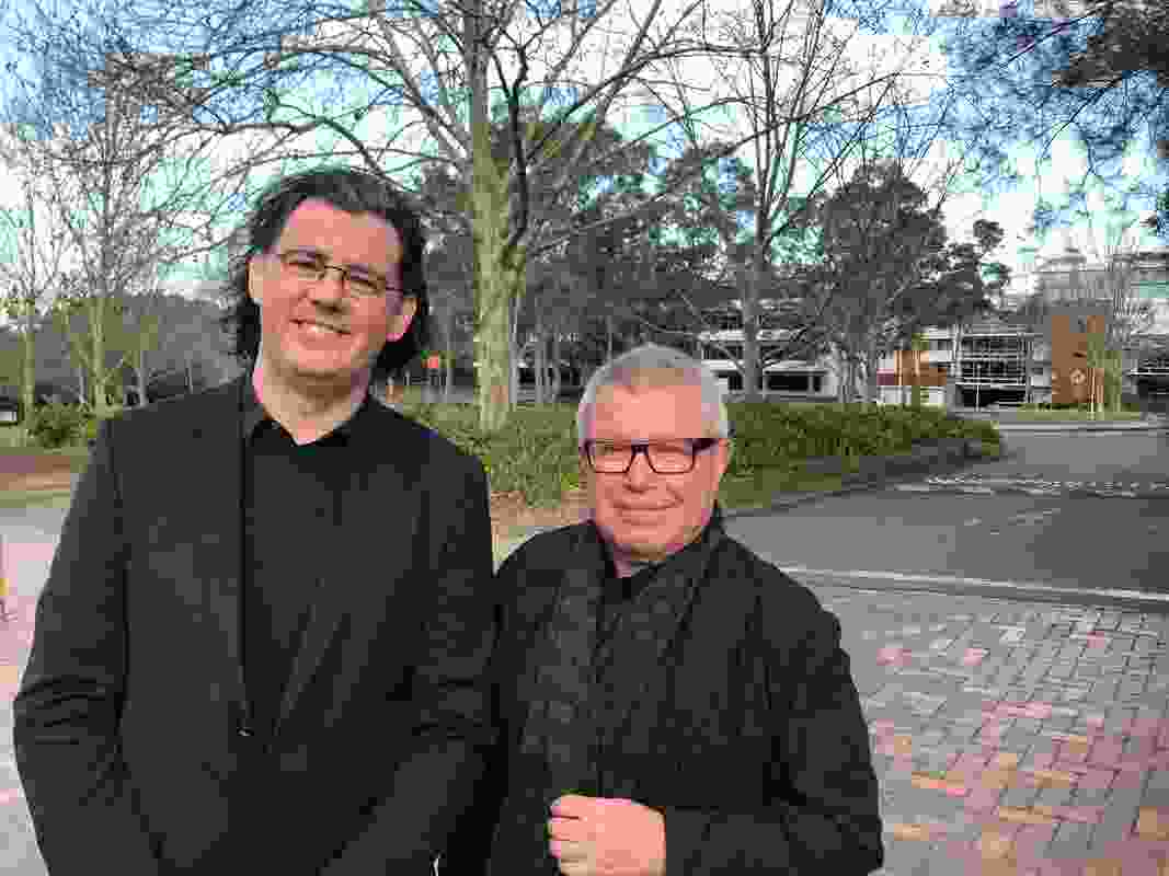 Paul Reidy of Fitzpatrick Partners and Daniel Libeskind of Studio Libeskind.