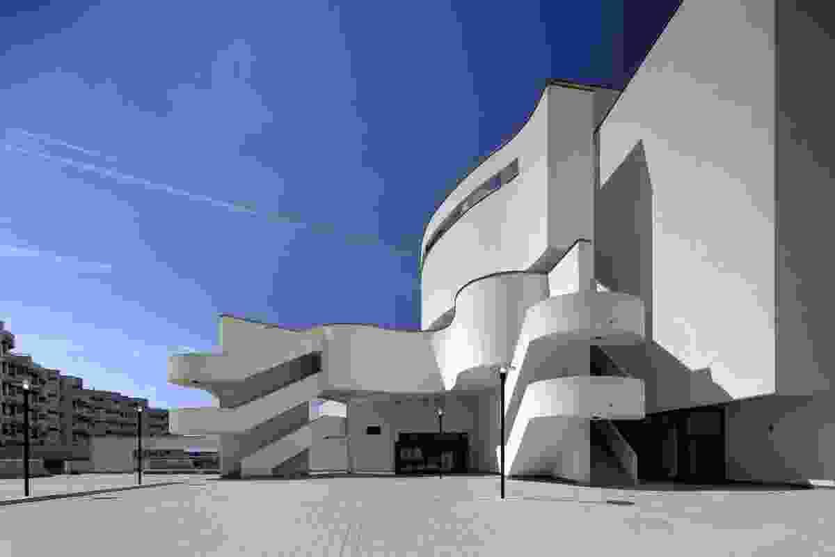 Cineplex Neue Donau in Vienna, 1993–1998.