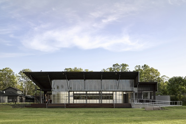 Curra Community Hall by Bark Design Architects.