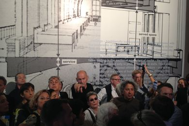 Rem Koolhaas at Elements, Venice 2014.