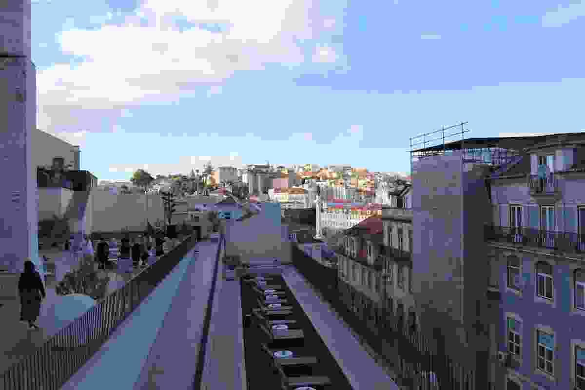 Carmo Terrace by Alvaro Siza.