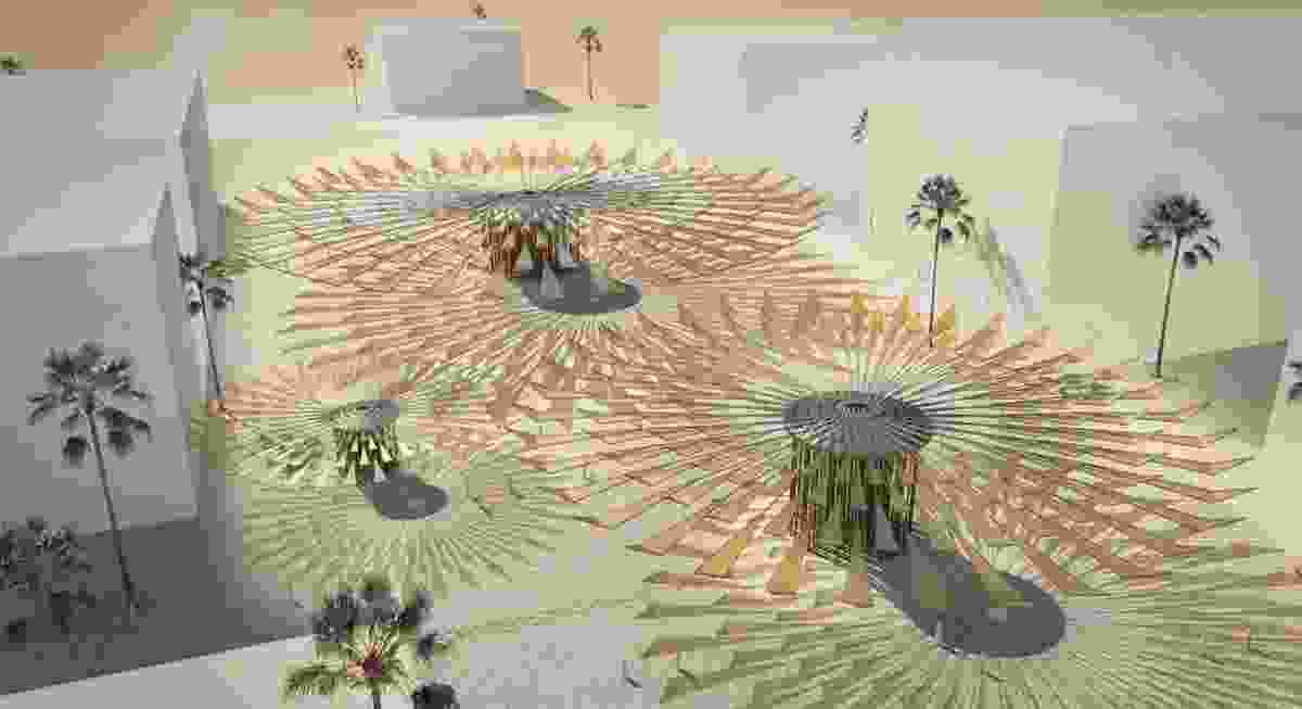 Second place winner in the 2019 LAGI competition – Sun Flower by Ricardo Solar Lezama, Viktoriya Kovaleva, Armando Solar