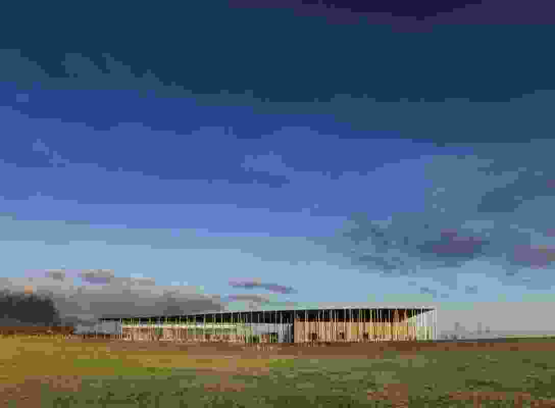 Stonehenge Exhibition + Visitor Centre (UK) by Denton Corker Marshall.