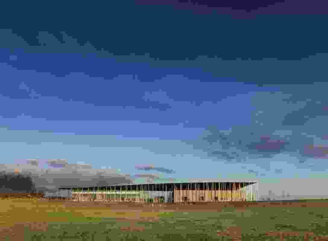 Stonehenge Exhibition + Visitor Centre (UK) by Denton Corker Marshall.