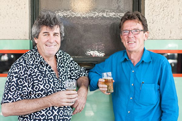 Phil Harris and Adrian Welke, co-founders of Troppo Architects.
