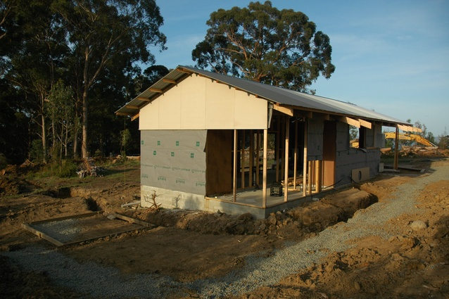 "The project has been dubbed the ""60k House"", but Kerr says that the final product will more closely resemble a shack."