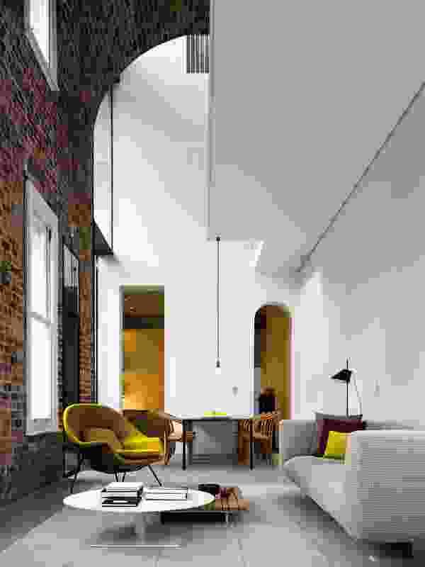 Italianate House by Renato D'Ettorre Architects.